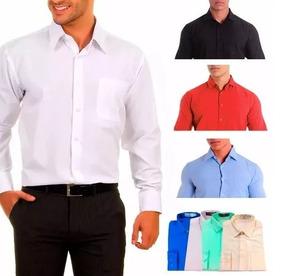 6402e29e72 Camisa Social Slim Fit Uniforme Personalizada - Calçados