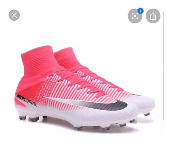 Botines Nike Botita Mercurial Rosas