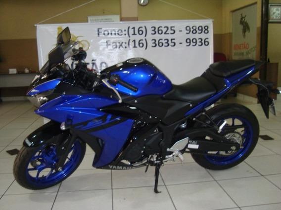Yamaha Yzf R3 Azul 2019