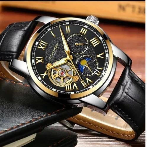 Relógio Guanqin Mecânico Turbilhão