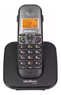 Telefone sem fio Intelbras TS 5120 preto e cinza
