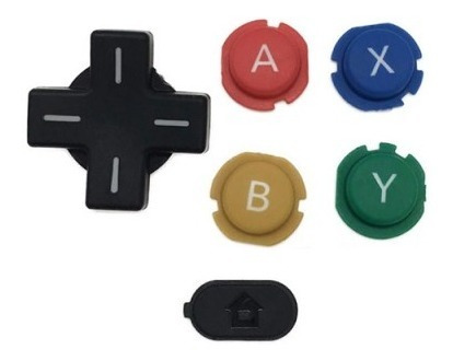 Botones De Colores Nintendo New 3ds.