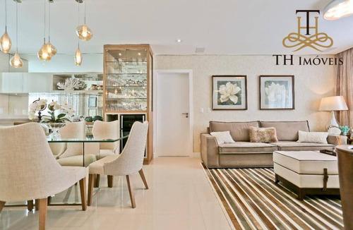 Apartamento Com 3 Dormitórios À Venda, 130 M² Por R$ 1.600.000 - Pioneiros - Balneário Camboriú/sc - Ap0903
