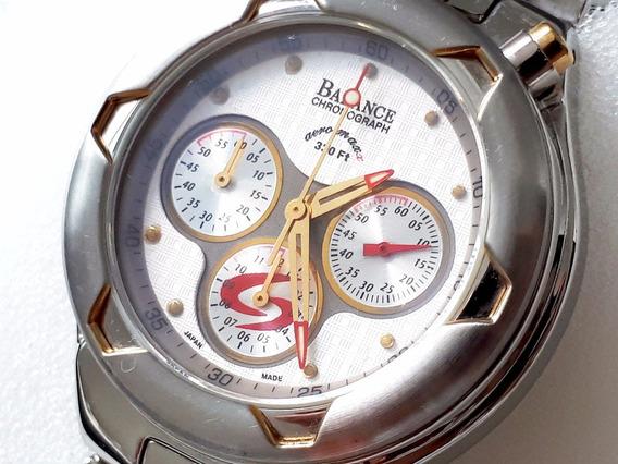 Relógio Balance / Bulova Cronógrafo Blh-5076gtt - Original!