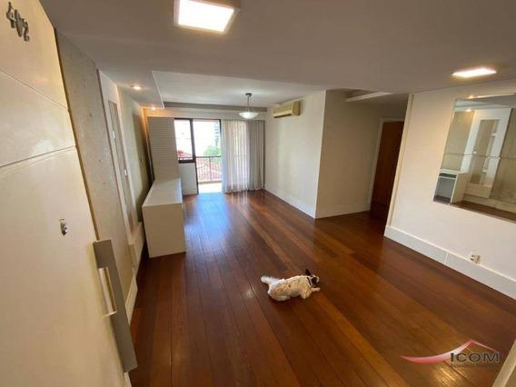 Apartamento Com 3 Dormitórios Para Alugar, 116 M² Por R$ 2.900,00/mês - Botafogo - Rio De Janeiro/rj - Ap4400