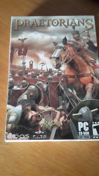 Juego De Pc Praetorians Totalmente Original Cd-rom