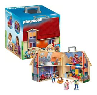 Playmobil Casa De Muñecas Con Forma De Maletin 5167 Educando