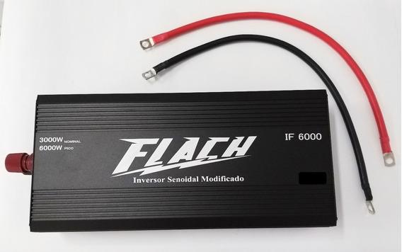 If6000-1 Inversor De Tensão Com Proteção 12v/220 - 6000 Pico