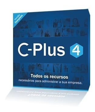 Software C-plus 4 Slim 2 - Licenca 1 Usuarios + Nf-e + Xml