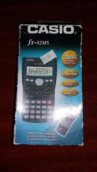 Calculadora Científica De Bolso Casio Fx-82ms - Original.