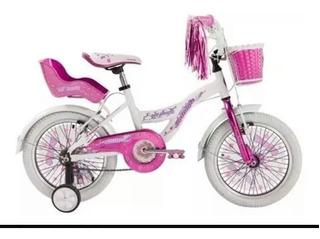 Bicicleta Raleigh Rodado 16trae:guardabarrosporta Muñenca