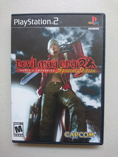 Devil May Cry 3 Especial Edition - Playstation 2 - Ps2