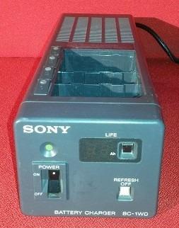 Sony Carregador Bc-1wd