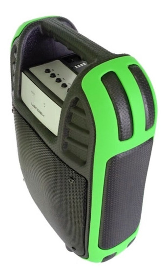 Caixa De Som Portátil Bluetooth Mp3 Usb Tf Rádio Fm Aux P2