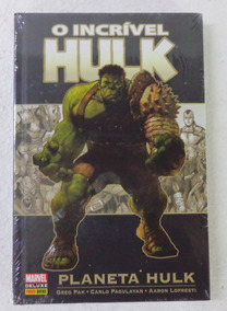 Hulk Planeta O Incrivel Hulk- Panini Lacrado Pronta Entrega