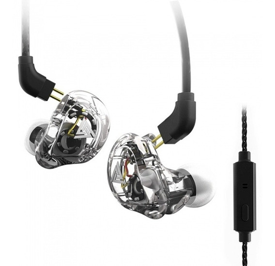 Fone Qkz Vk1 In Ear Dual Driver Com Microfone