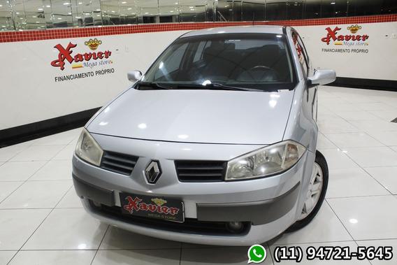Megane Sedan Dynamique 1.6 2008 Financiamento Próprio 6606