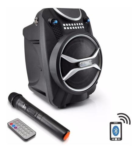 Pyle Parlantes Bluetooth Pwmab210bk Recargable Microfono