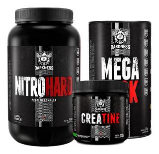 Nitro Hard 907g Creatine 200g Mega Peck Hardcore