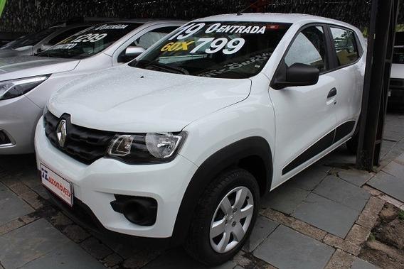 Renault Kwid Zen 1.0 Oportunidade Carro Bom Sem Entrada