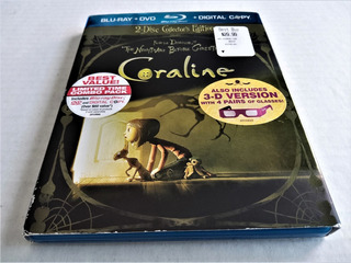 Coraline 2 Disc Collector