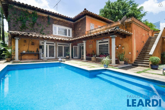 Casa Assobradada - Cidade Jardim - Sp - 435485