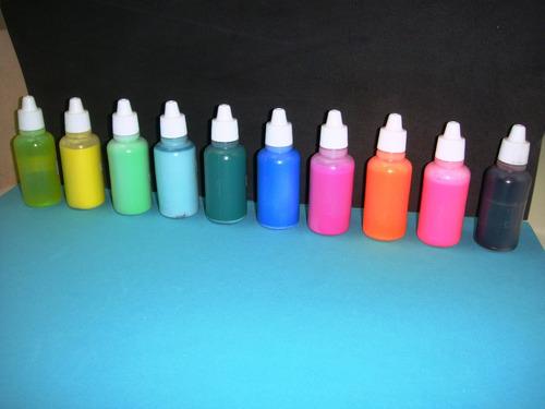 Colorantes Cosmeticos  12 Unidades