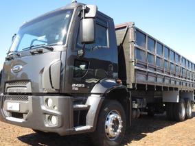 Ford Cargo 2423 Truck Reduzido Semi-novo Granel Nova