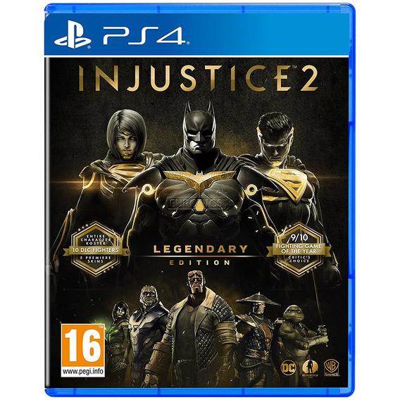 Jogo Injustice 2 Legendary Ps4 Disco Fisico Novo Português
