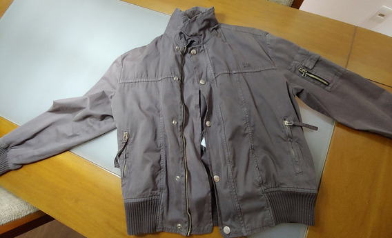 Jaqueta Ellus Old School Brim Com Zipper Original Tamanho P