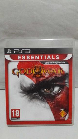 God Of War 3 Dublado Raro Jogo Ps3 Mídia Física