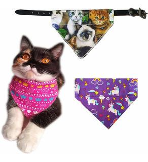 Yani Accesorios Para Mascotas Collar De Pañuelo De Gato Inte