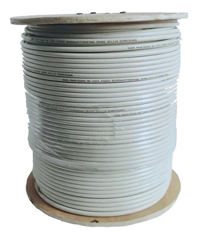 Cable Coaxial Rg-6 +pinzas+conectors+divisores+envio Gratis