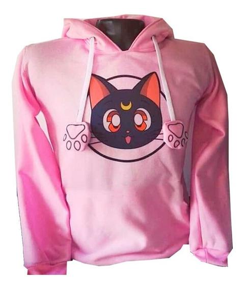 Buso Buzo Retrolive Diseño Gato Sailor Moon