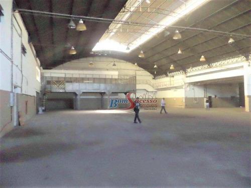 Imagem 1 de 7 de Galpão Para Alugar, 2291 M² Por R$ 50.000,00/mês - Vila Maria - São Paulo/sp - Ga0270