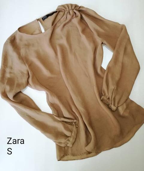 Zara 100% Original Pantalon Mujer S ( 12 Trump )