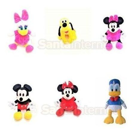 Pelúcias Mickey Minnie Pato Donald Margarida Pluto (unidade)