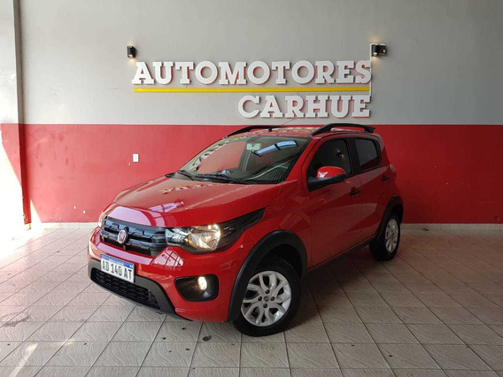 Fiat Mobi 1.0 Way 2018 $350.000 Y Cuotas!!