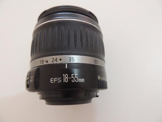 Lente Objetiva Canon Ef-s 18-55 Mmauto Foco