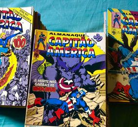 Capitão América- Revistas( Hqs Anos 80-90) Ed.abril