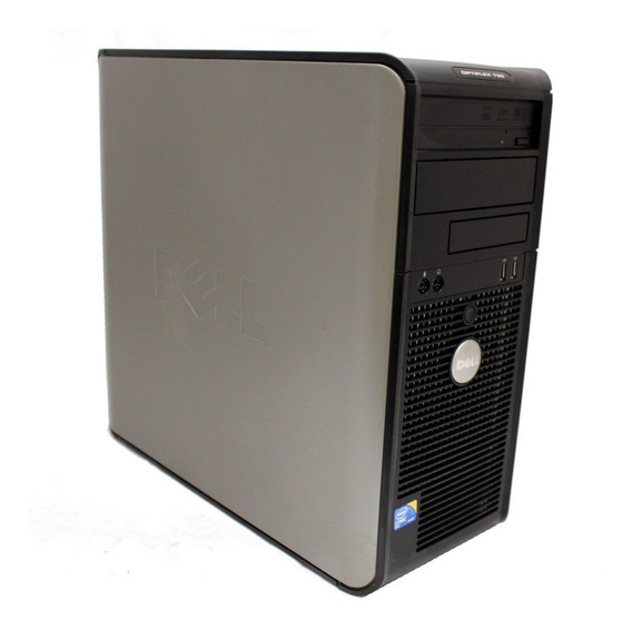 Computador Dell Optiplex 780 Tower Core2duo Ddr3 Hd 160 Gb