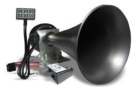 Sirene De Viatura Policia, Bombeiro, Etc 6 Sons C/megafone