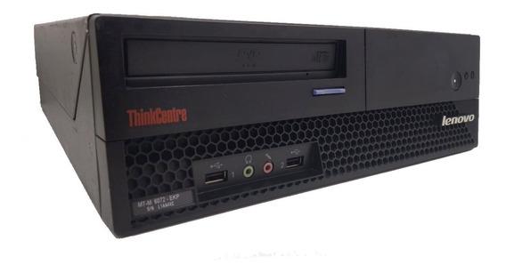Cpu Lenovo Thinkcenter 6072 Core 2 Duo 4gb Hd 500gb Win10