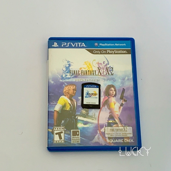 Final Fantasy X X2 Hd Remaster - Psvita!