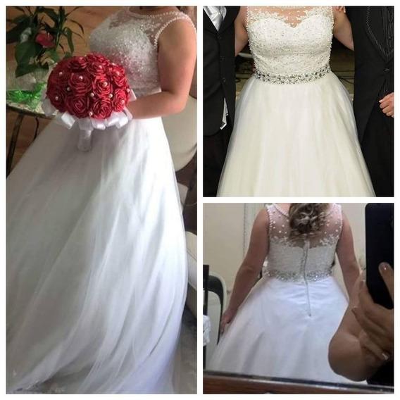 Vestido De Noiva Princesa Casamento