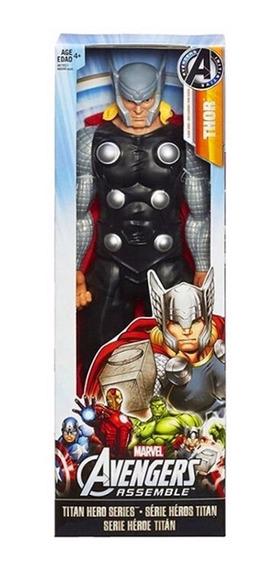 Boneco Do Thor Gigante Articulado Grande Com 30cm Marvel