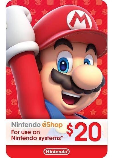 Cartão Nintendo Eshop Canadá 30 Dólares