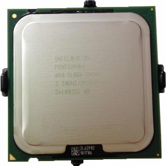 Processador Lga 775 Pentium 4 3.2ghz 2mb Sl8q6 Novo