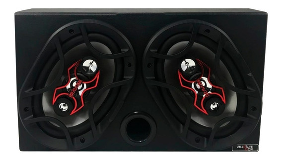 Caixa 6x9 Bravox Montada 140w Rms Só Instalar Completa