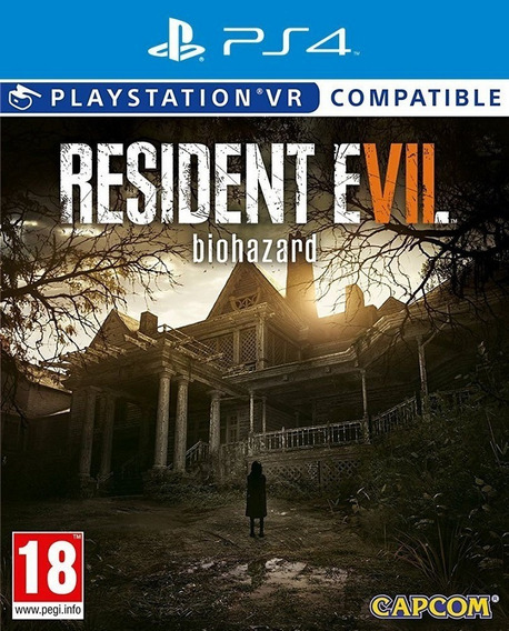 Resident Evil 7 Ps4 Mídia Física Lacrado